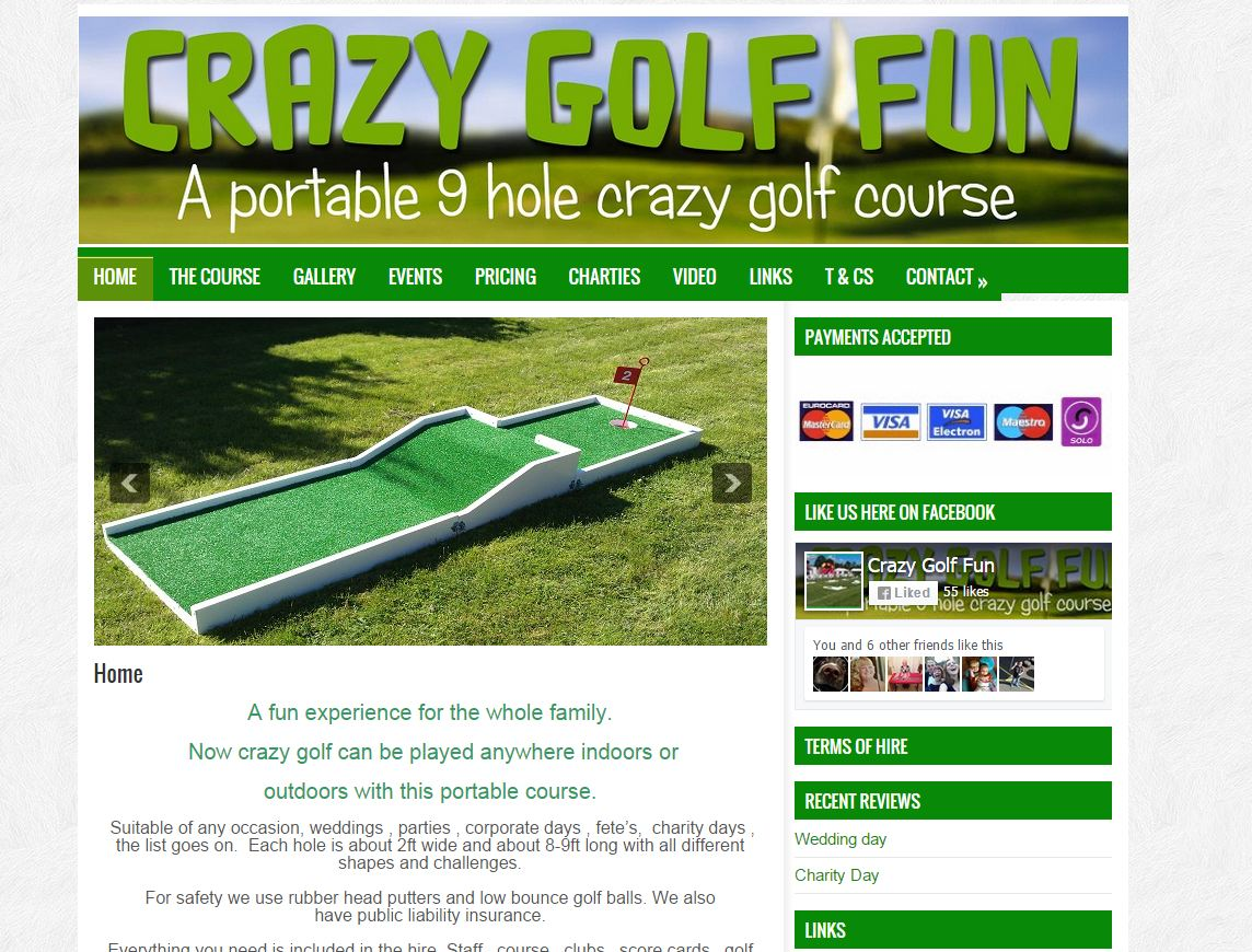 Crazy Golf Fun
